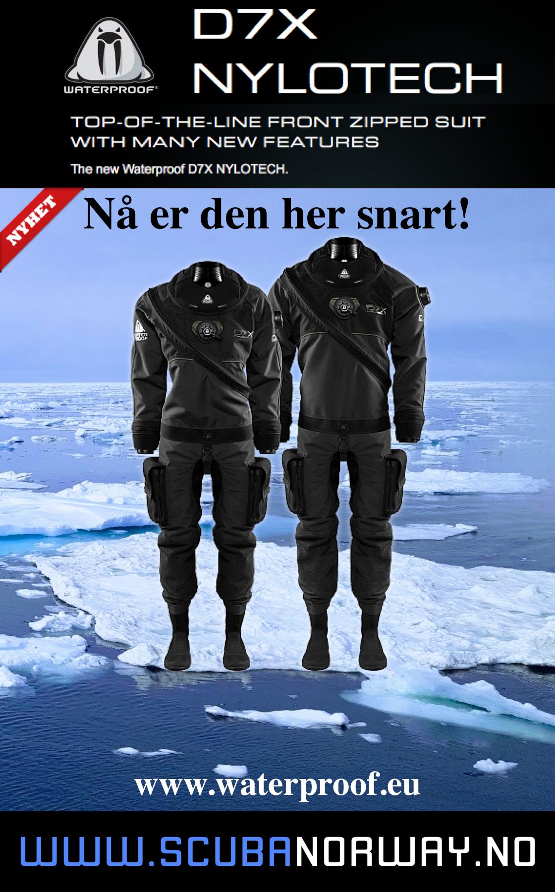 Scuba Norway Waterproof D7X